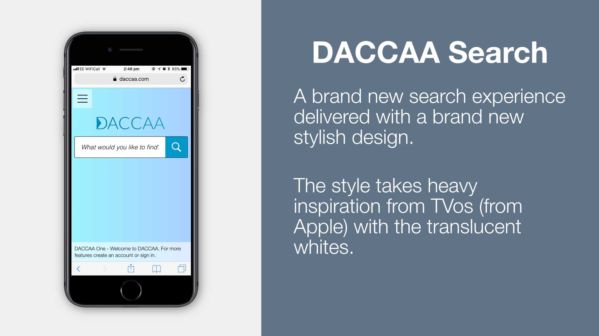DACCAA Search
