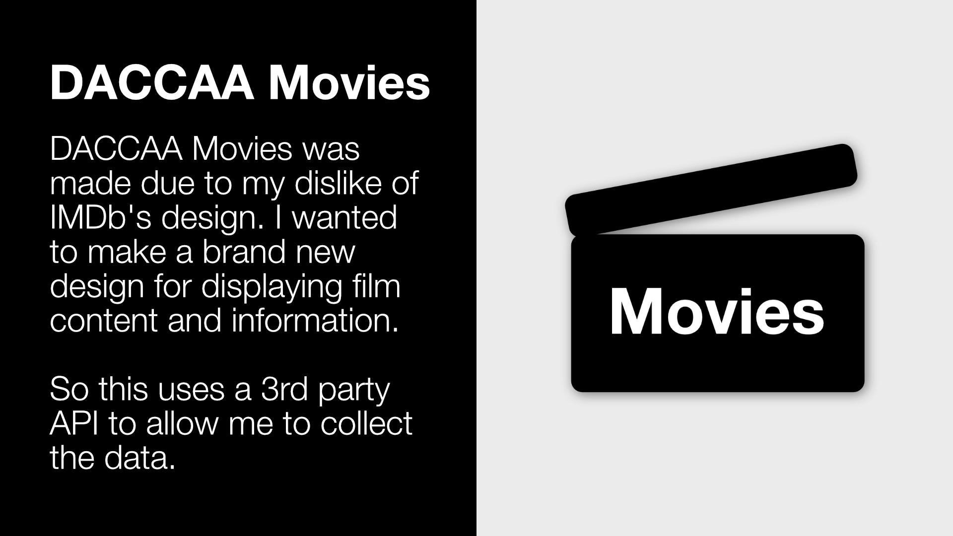 DACCAA Movies